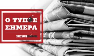 Εφημερίδες: Διαβάστε τα σημερινά (05/02/2018) πρωτοσέλιδα