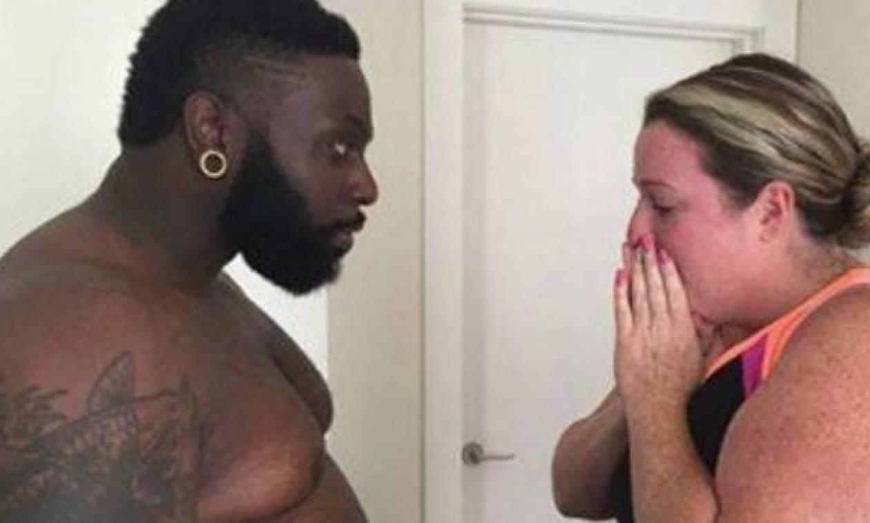 Δεν υπάρχει! Γυμναστής πήρε σκόπιμα 32 κιλά για να δείξει στη γυναίκα του ότι... (video)