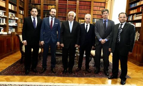 Στον Παυλόπουλο το προεδρείο του Οικονομικού Επιμελητηρίου Ελλάδος
