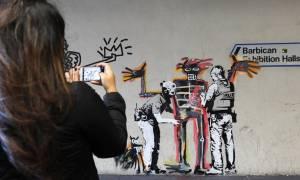 Αυτός είναι ο μυστικοπαθής καλλιτέχνης Banksy; (vid)
