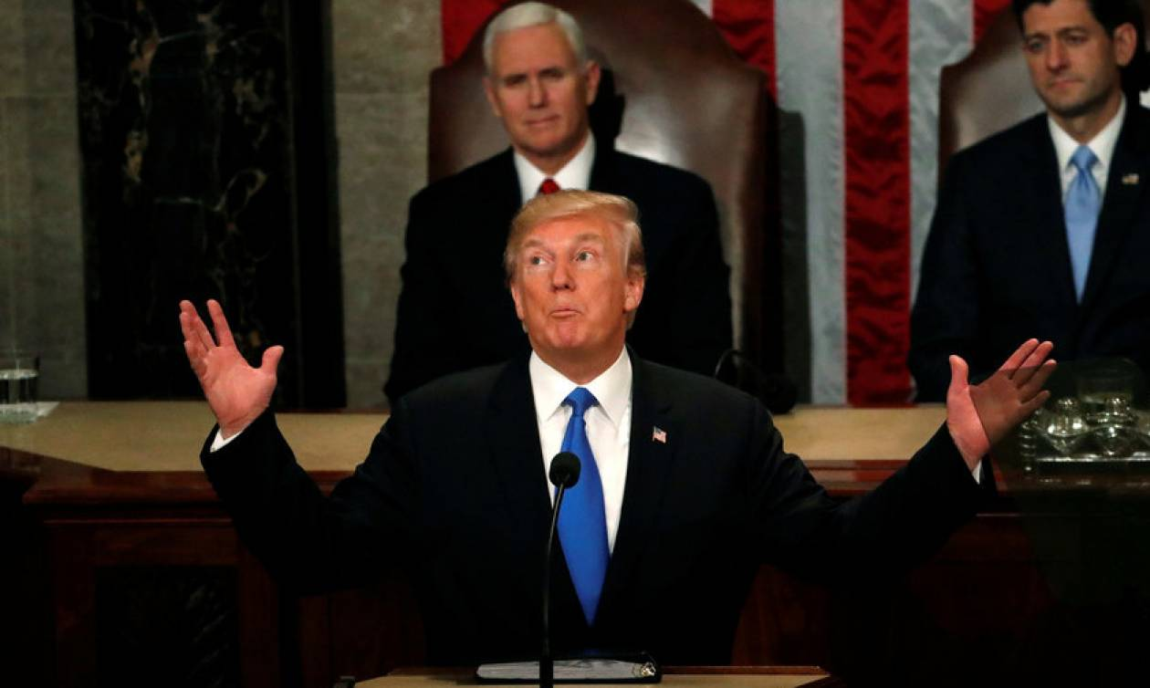 Ντόναλντ Τραμπ: Προδότες όσοι δεν χειροκρότησαν την ομιλία μου
