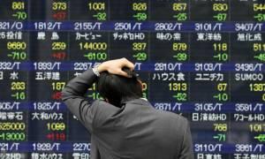 Μετά τη Γουόλ Στριτ «βουτιά» και στο χρηματιστήριο της Τόκιο