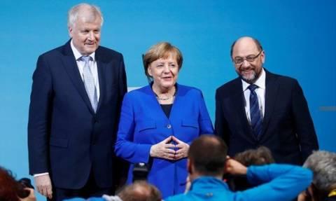 Κυβέρνηση συνασπισμού στη Γερμανία: Στο SPD τα υπουργεία Εξωτερικών, Oικονoμικών και Εργασίας