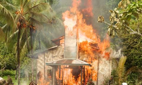 Φρίκη στη Γουινέα: Πέντε βρέφη κάηκαν ζωντανά από πυρκαγιά κατά τη διάρκεια επεισοδίων