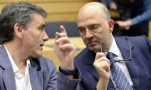 Συνάντηση Τσακαλώτου –Μοσκοβισί στο Υπουργείο Οικονομικών