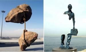 Πώς να μην «καεί» o εγκέφαλός μας με αυτά τα 15 τρελά αγάλματα!