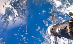 Συμβαίνει τώρα! Δείτε LIVE τον πλανήτη Γη από το διάστημα