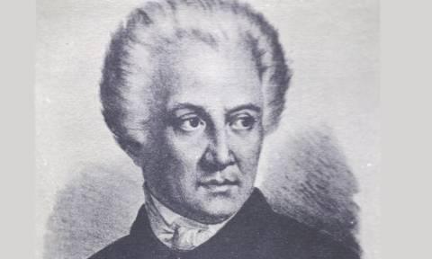 Σαν σήμερα το 1857 έφυγε από τη ζωή ο Διονύσιος Σολωμός, εθνικός ποιητής της χώρας μας