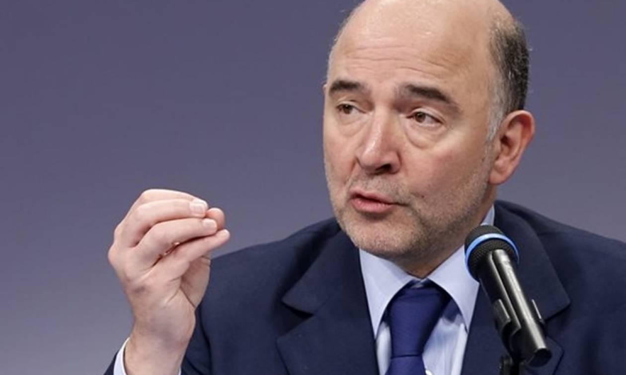 Μοσκοβισί: Δεν πρέπει να υπάρξει τετάρτο μνημόνιο για την Ελλάδα