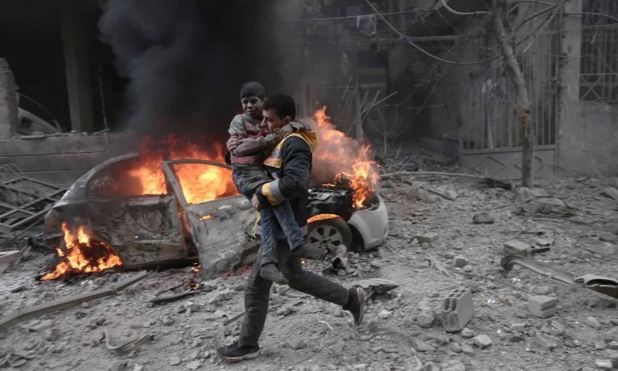Συρία: Καταιγισμός πυρών  στη Γούτα – Περισσότεροι από 220 νεκροί