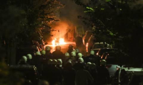 Πολυτεχνείο: Μολότοφ και πετροπόλεμος και πάλι στο κέντρο της Αθήνας