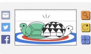 Χειμερινοί Ολυμπιακοί Αγώνες 2018: Το doodle της Google και ο... γυμνόστηθος αθλητής (photos)