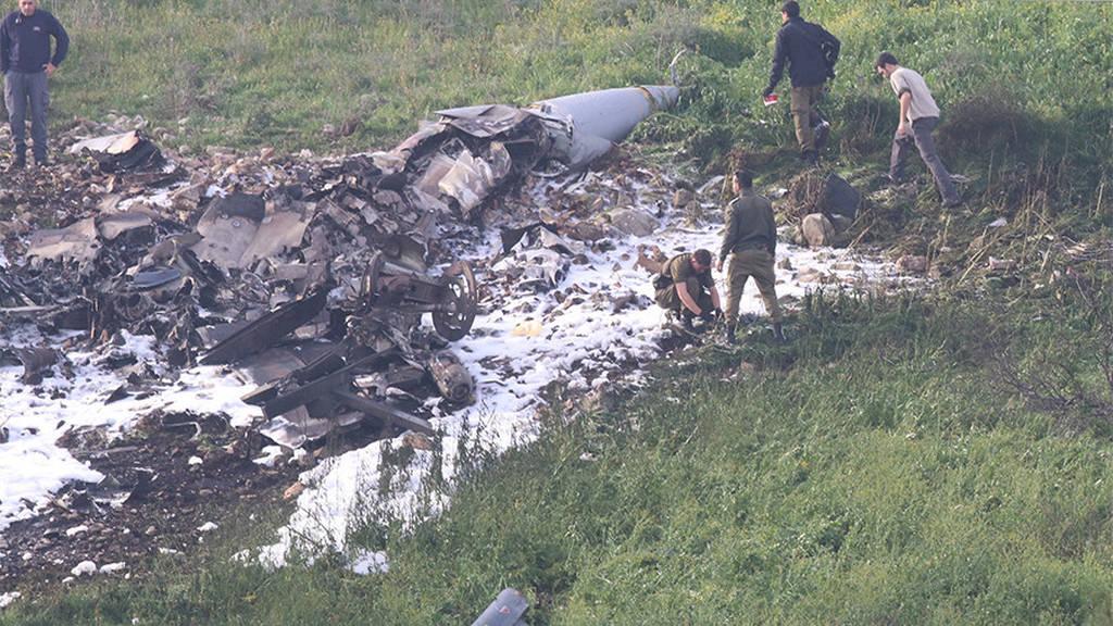 Κατάρριψη ισραηλινού F-16: Κάνει πίσω το Ισραήλ (Pics+Vid)