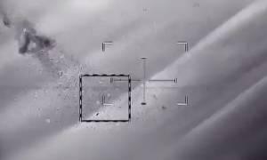 Δείτε το βίντεο της κατάρριψης του drone από ισραηλινά πυρά