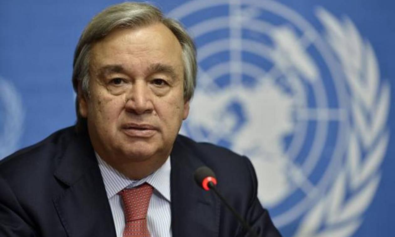 ΟΗΕ: Έκκληση Γκουτέρες για άμεση αποκλιμάκωση της έντασης στη Συρία