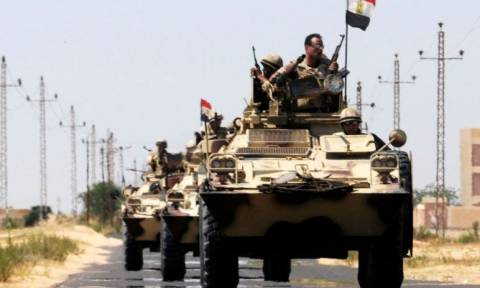 Αίγυπτος: Ο στρατός ανακοίνωσε πως σκότωσε 16 ισλαμιστές μαχητές