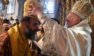 Με λαμπρότητα η χειροτονία του νέου μητροπολίτη Σύμης στο Οικουμενικό Πατριαρχείο (video)