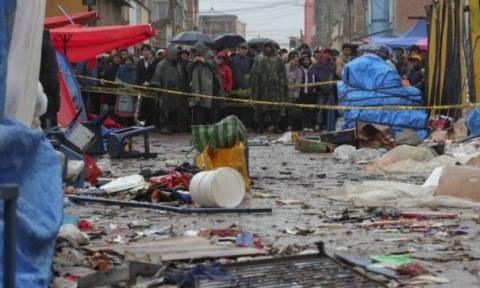 Το καρναβάλι βάφτηκε με αίμα: Είκοσι ένας νεκροί στη Βολιβία (pics)