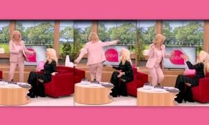 Η Αγγελική Νικολούλη «τρέλανε» την Ελένη με τον χορό της