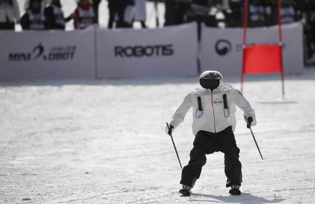 Χειμερινοί Ολυμπιακοί Αγώνες: Ρομπότ - σκιέρ κατεβαίνουν τις πλαγιές (pic&vid)
