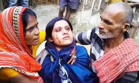 Η γυναίκα με τα ματωμένα δάκρυα (pics&vid)