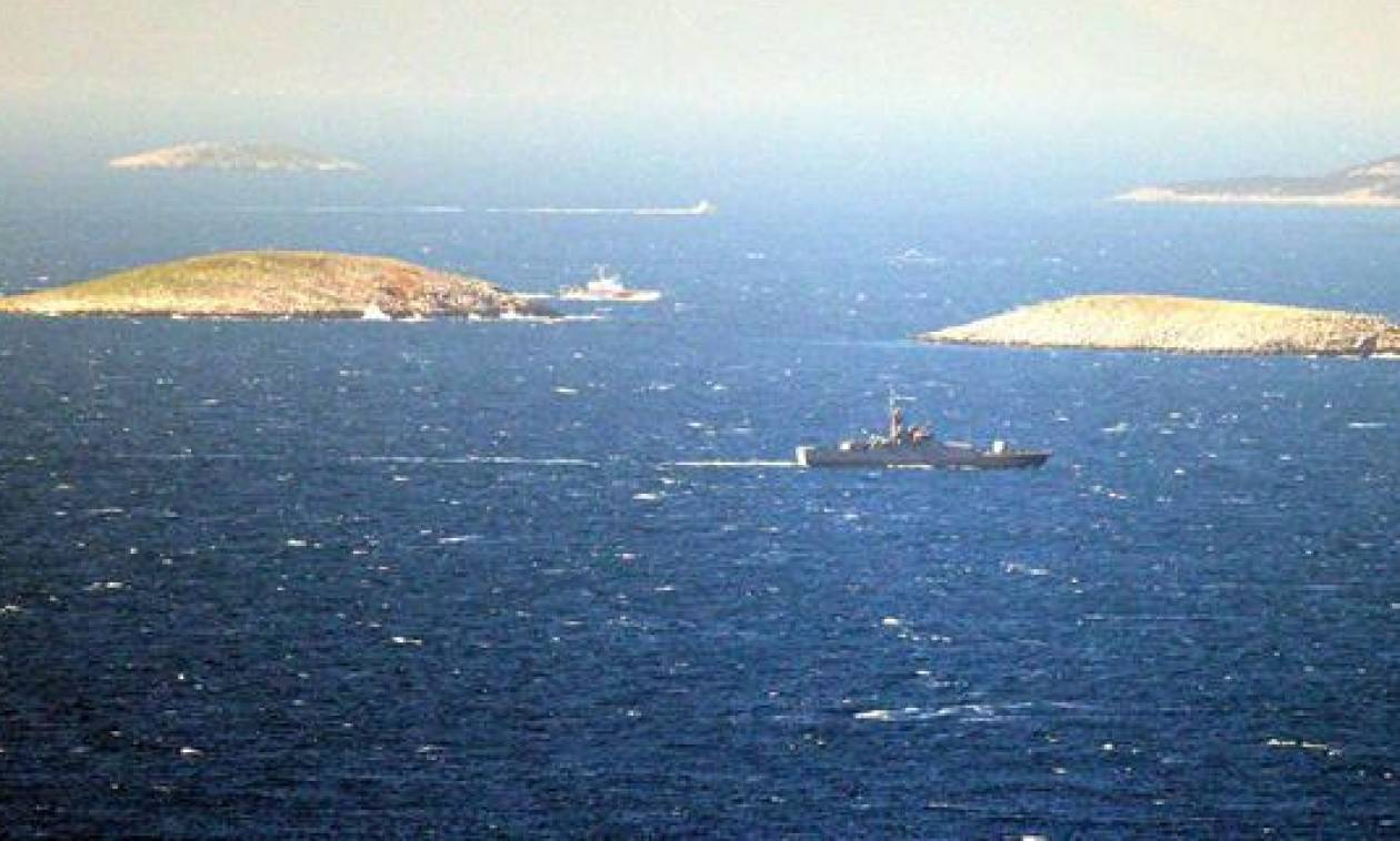 Ένταση στα Ίμια: Τρόμος - Ελληνικά και τουρκικά σκάφη γύρω από τις βραχονησίδες