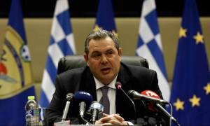 Ένταση στα Ίμια - Καμμένος: Η συμπεριφορά της Τουρκίας ξεπερνά τα όρια του ανεκτού (vid)
