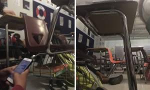 Μακελειό Φλόριντα - Συγκλονιστικά βίντεο: Η στιγμή της επίθεση μέσα στο σχολείο (vids)