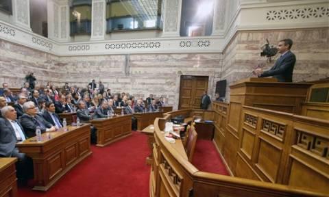 Συνεδριάζει η Κοινοβουλευτική Ομάδα της Νέας Δημοκρατίας