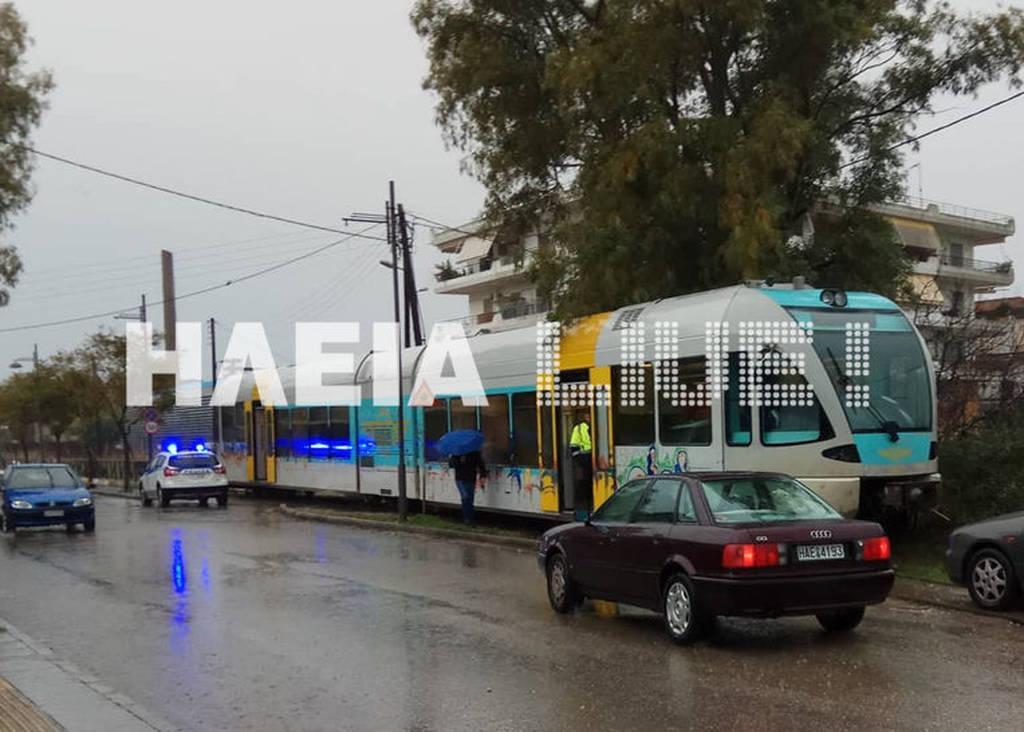 Πύργος: Εκτροχιάστηκε το τρένο στο δρομολόγιο από το Κατάκολο