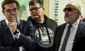 Η δήλωση του Π. Κουρουμπλή κατά την επίσκεψη του πρωθυπουργού στο υπουργείο Ναυτιλίας