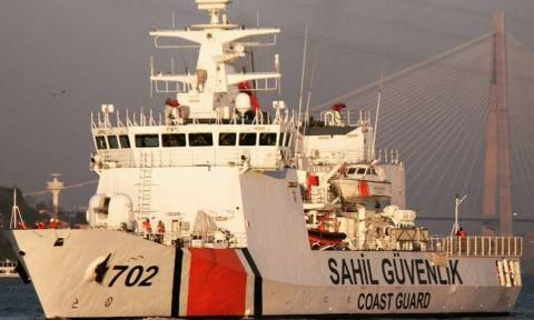 Ίμια τώρα: Μόνο τουρκικά πλοία στις βραχονησίδες - Δείτε χάρτες σε πραγματικό χρόνο