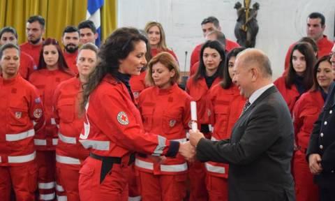 Εξήντα νέοι Εθελοντές στην οικογένεια του Ελληνικού Ερυθρού Σταυρού (pics)