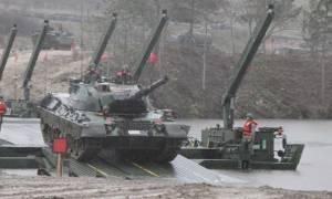 Μετά τα Ίμια… Έβρος: «Ψευτομαγκιές» των Τούρκων με άρματα μάχης στα σύνορα (pics)