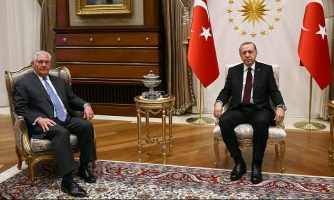 Τουρκία: Συνάντηση Τίλερσον με Ερντογάν - Τι συζήτησαν