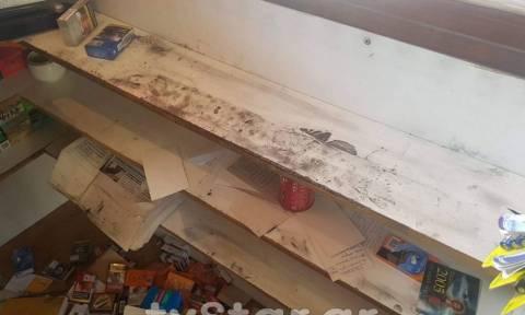 Θρασύτατοι ληστές «άδειασαν» περίπτερο δίπλα από το αστυνομικό μέγαρο
