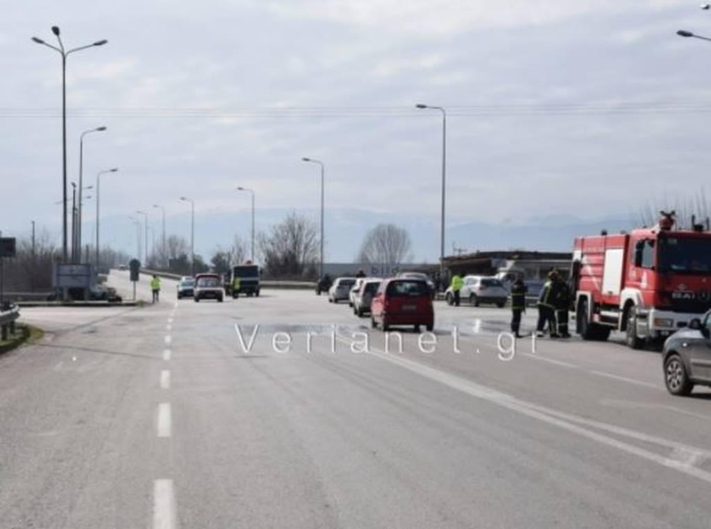 Βέροια – Θανατηφόρο τροχαίο με λεωφορείο (pics)