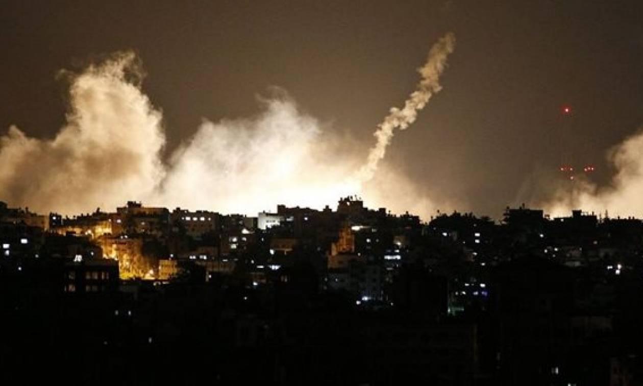 Το Ισραήλ εξαπέλυσε αεροπορικά πλήγματα στη Χαμάς για την πρωινή έκρηξη