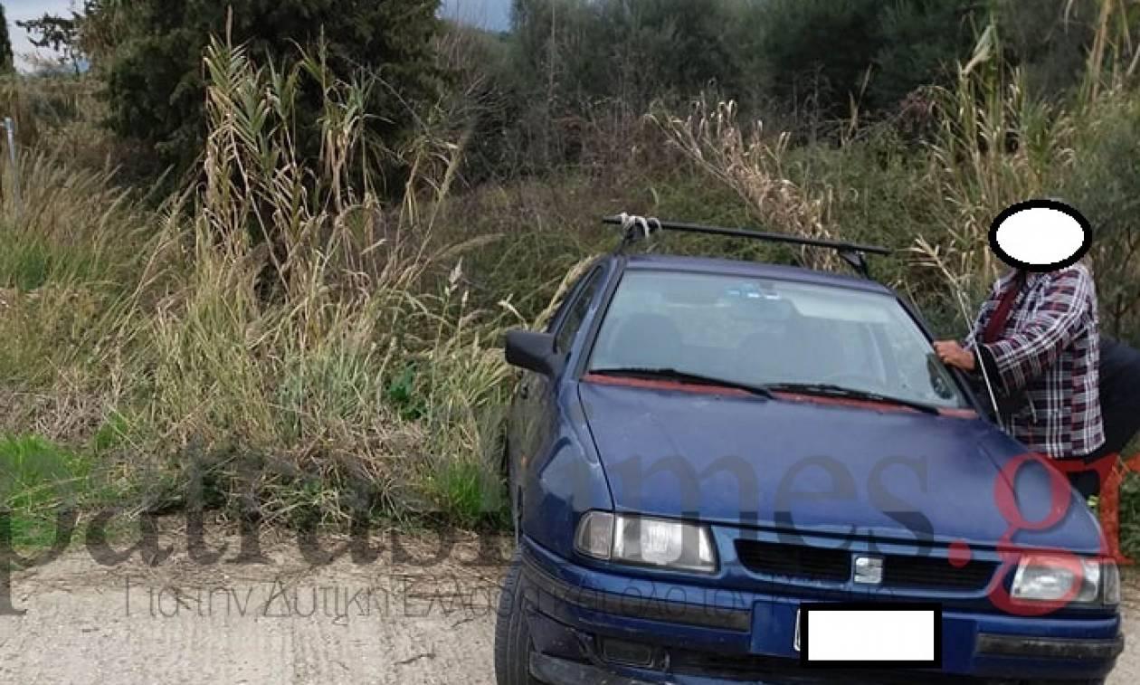 Πάτρα: Μέθυσε και... έπεσε στο ποτάμι με το αυτοκίνητό του