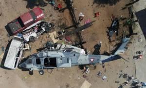 Μεξικό: Στους 14 οι νεκροί από τη συντριβή του στρατιωτικού ελικοπτέρου