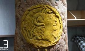 Γιαννιτσά: Η τεράστια λαγάνα με τον Μέγα Αλέξανδρο που κάνει θραύση (pics)