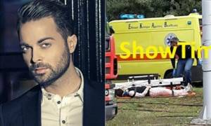 Ηλίας Βρεττός: Σοκαριστικό τροχαίο για τον τραγουδιστή στην παραλιακή - Φώναζε «πονάω στα πόδια»