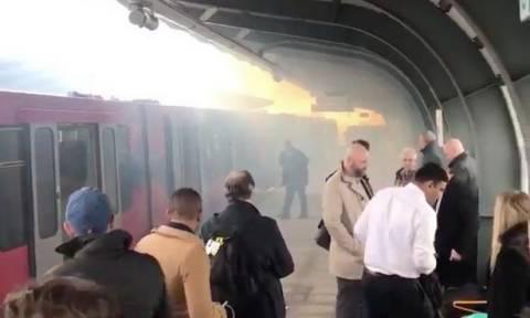 Πανικός σε σταθμό τρένου στο Λονδίνο μετά από εκρήξεις (vid)