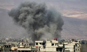 Συρία: Αιματοχυσία στην ανατολική Γούτα - Τουλάχιστον 94 νεκροί σε επιδρομές