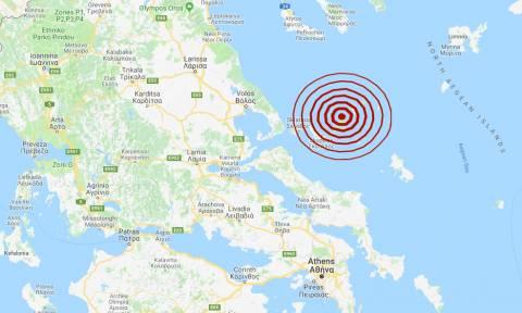 Σεισμός στην Αλόννησο - Αισθητός σε αρκετές περιοχές (pics)