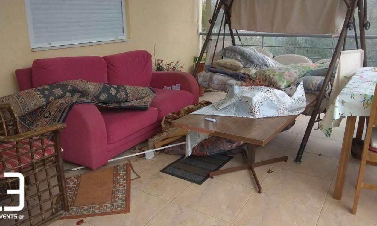 Καρολίνα Κάλφα: Αυτό είναι το σπίτι όπου εκτυλίχθηκε η τραγωδία (pics+vid)