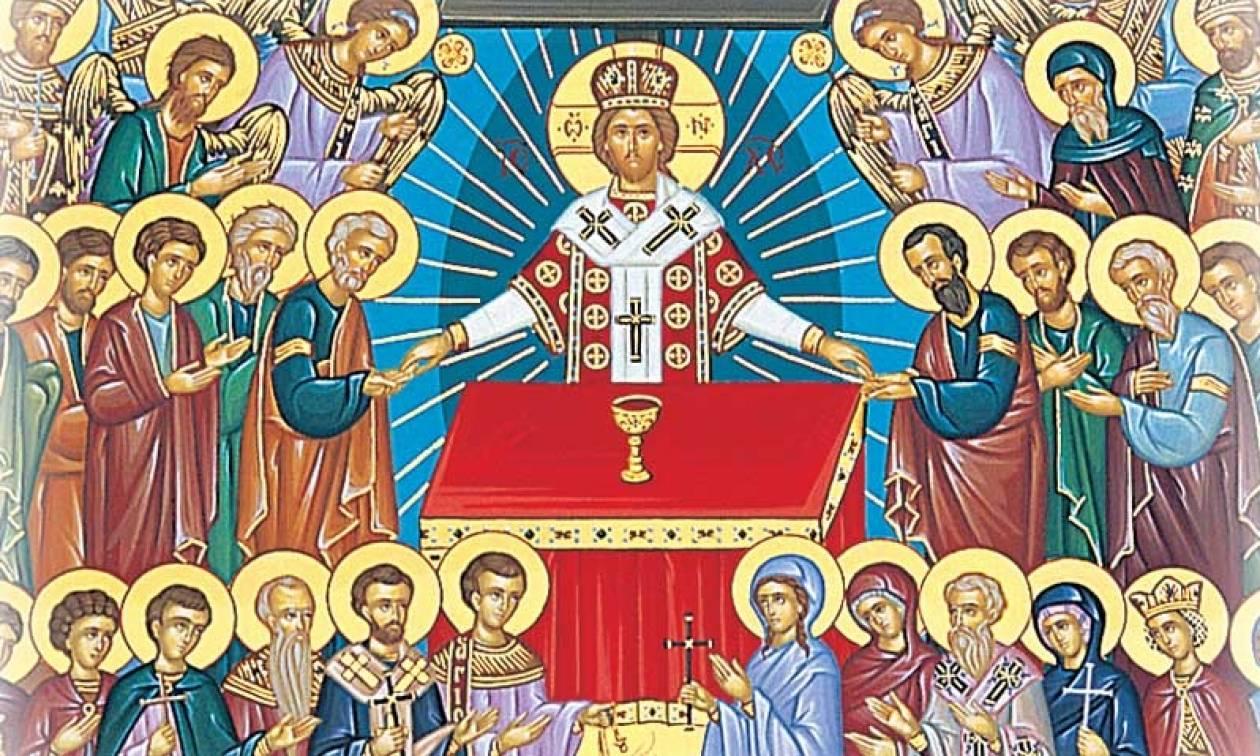 Για πρώτη φορά: 28 Άγιοι μαζί «επισκέπτονται» την Άμφισσα