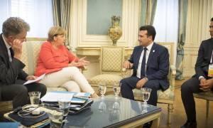 Γερμανία-Σκόπια: Με την Άνγκελα Μέρκελ συναντάται ο Ζόραν Ζάεφ – Τι θα συζητήσουν οι δύο ηγέτες