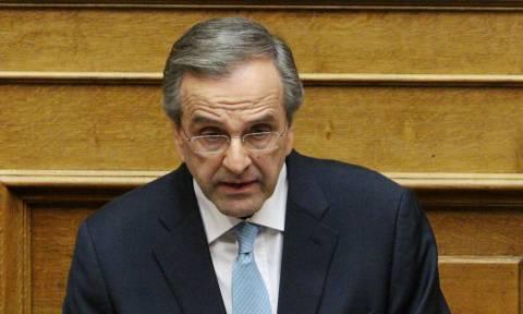 Προανακριτική Novartis: «Αρπάχτηκαν» Σαμαράς - Βούτσης στη Βουλή (vid)
