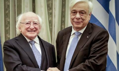 Συνάντηση Παυλόπουλου με τον Ιρλανδό ομόλογό του - Τα μηνύματα για Σκοπιανό και τουρκικές προκλήσεις